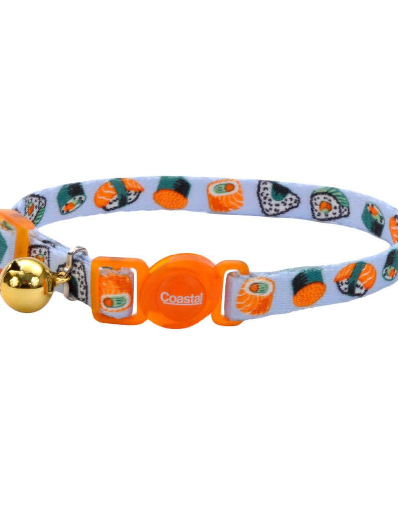 "Coastal Coastal 3/8"" Safety Cat Nylon Collar"