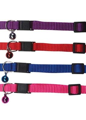 Meowtown Meowtown Nylon Cat Collar 8-12""