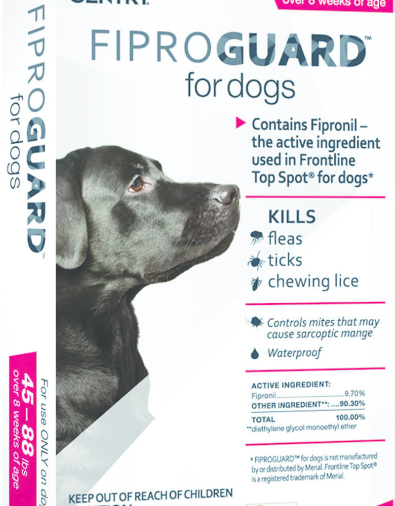 Sentry Fiproguard Collar for Dogs