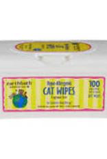 Earth Bath Earthbath Cat Grooming Wipes 100ct