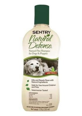 Sentry Natural Defense Flea Shampoo for Dogs