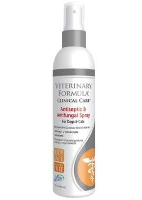 Synergy Labs Veterinary Formula Clinic Care Antiseptic & Anti-fungal Spray8oz