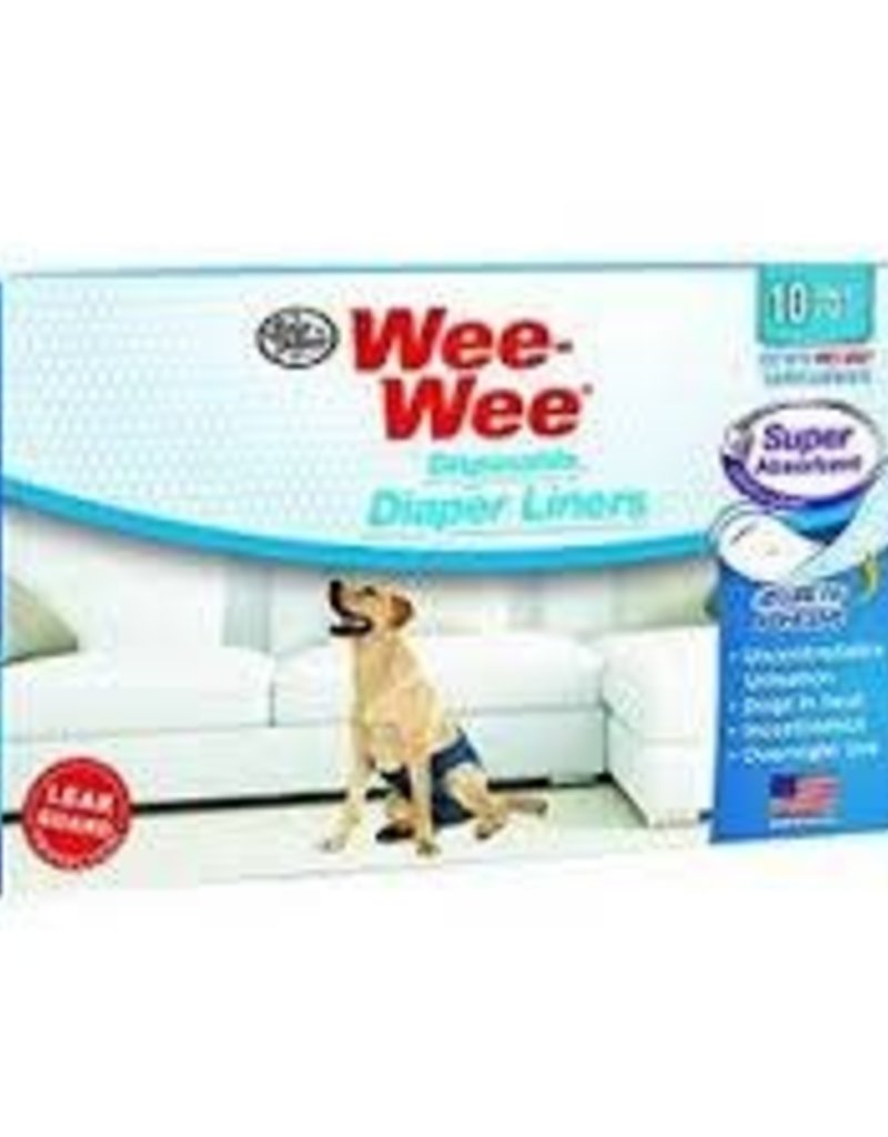 Four Paws Four Paws Wee-Wee Disposable Diaper Garment Liner