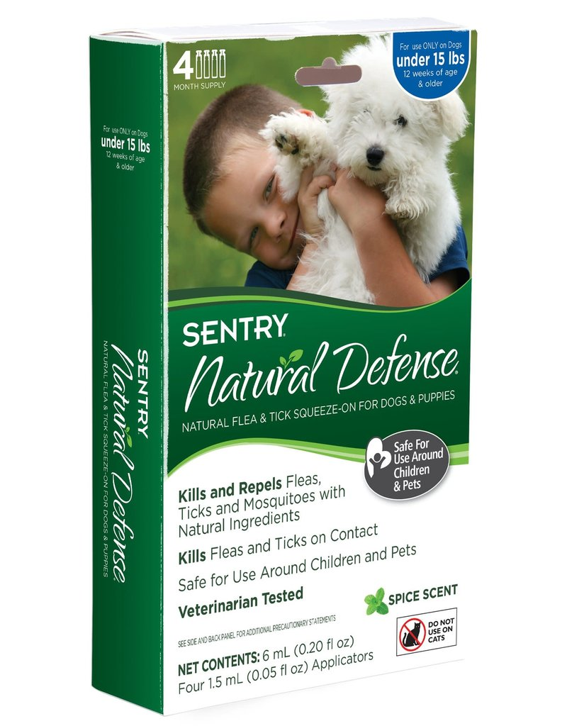 Sentry Sentry Natural Defense Flea & Tick Squeeze-On