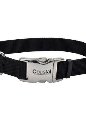"""Coastal Coastal 5/8"""" Metal Buckle Collar 10""""-14"""""""