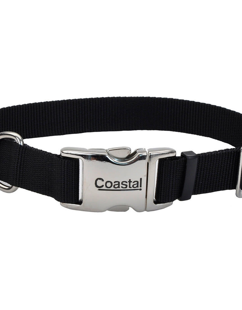 "Coastal Coastal 5/8"" Metal Buckle Collar 10""-14"""