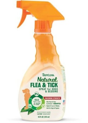 Tropiclean Tropiclean Flea and Tick Spray for Pets 16oz