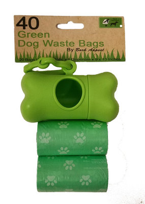 Bark Appeal Bark Appeal Green Dog Waste Bags