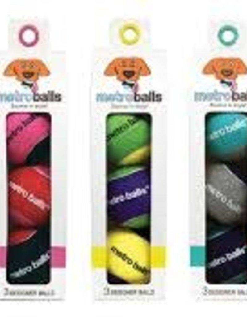 Metro Paws Metro Paws Balls 3 pack