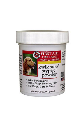 Pet Edge Miracle Care Kwik Stop Styptic Powder