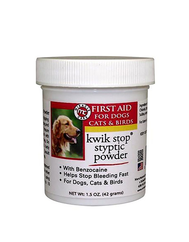 Pet Edge Miracle Care Kwik Stop Styptic Powder