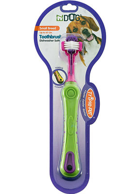 Triple Pet EZ Dog Toothbrush for Small Breeds