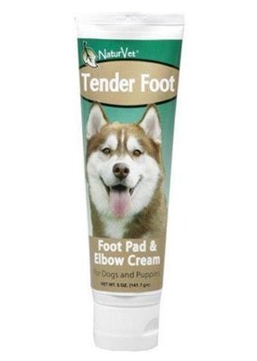 NaturVet NaturVet Tender Foot Foot Pad & Elbow Cream for Dogs 5 oz
