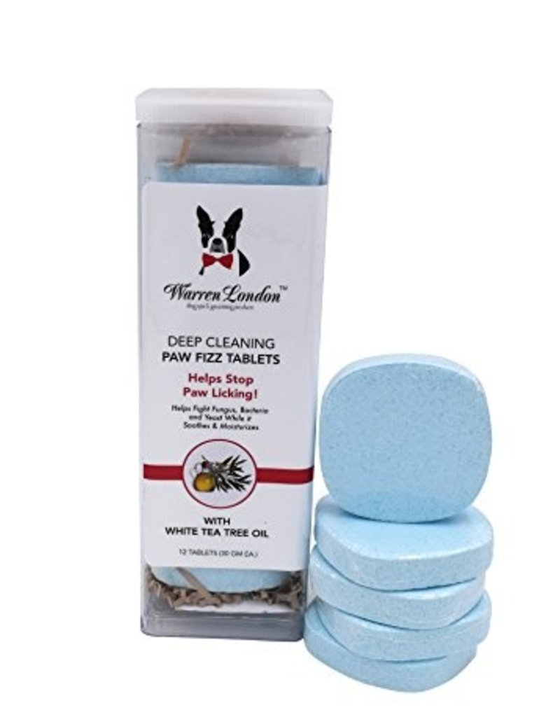 Warren London Warren London Deep Cleaning Paw Fizz Tablets for Dogs & Cats - 12 Tablets