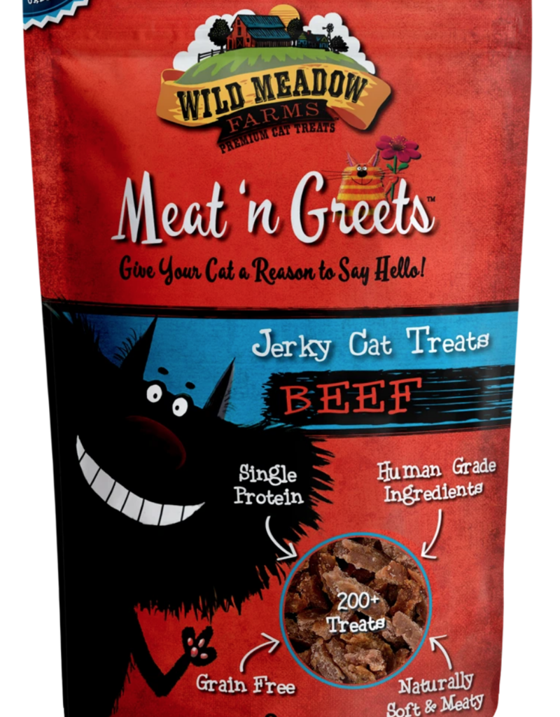 Wild Meadow Farms Wild Meadow Farms Cat Meat N' Greets Jerky 2oz