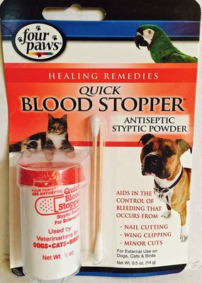 Four Paws Four Paws Antiseptic Quick Stop .5 oz