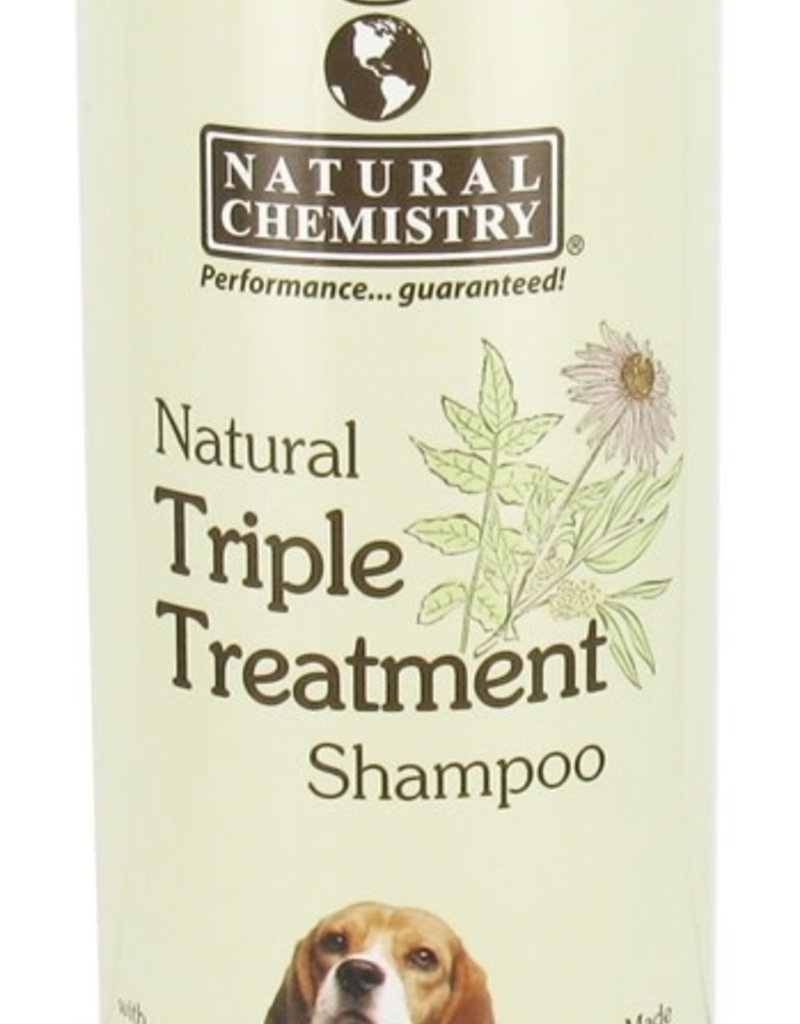 Natural Chemistry Triple Treatment Shampoo 16.9oz
