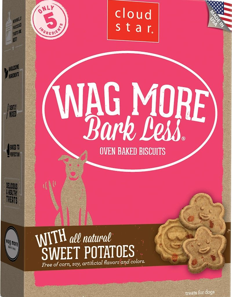 Cloud Star Wag More Mark Less ITTY BITTY Biscuit 8oz