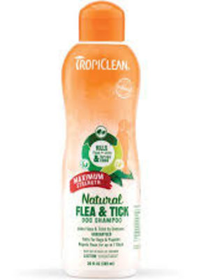 Tropiclean TropiClean Natural Flea and Tick Shampoo