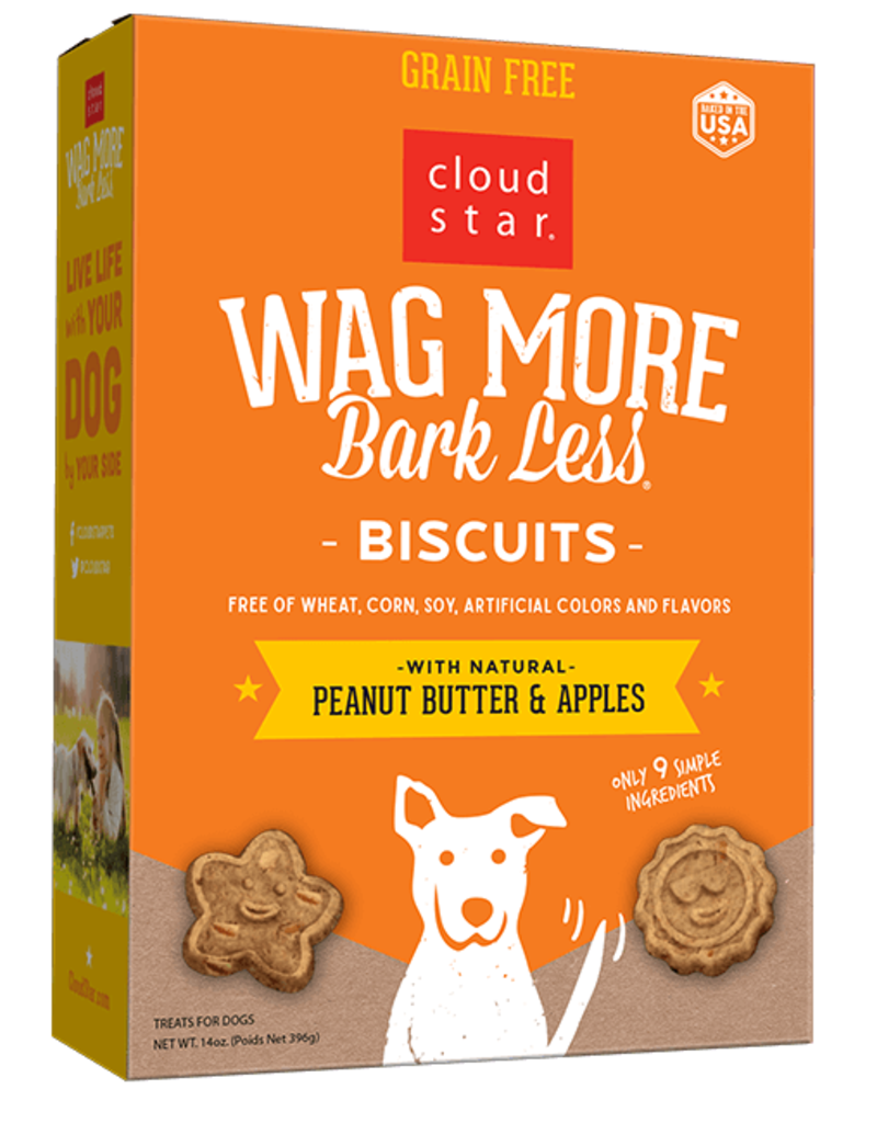 Cloud Star Cloud Star Wag More Bark Less GF Biscuits