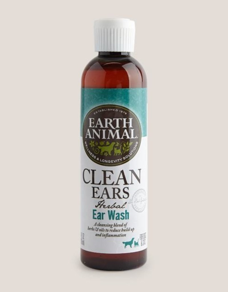 Earth Animal Earth Animal Clean Ear Wash 4oz
