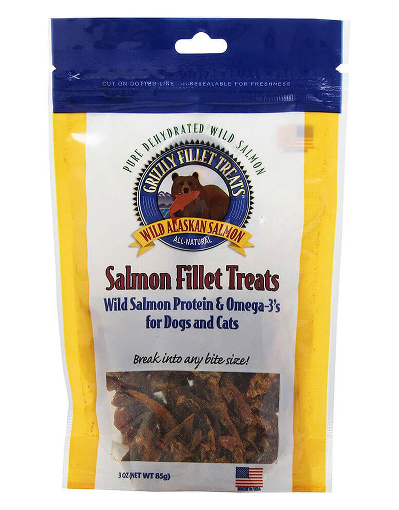 Grizzly Grizzly Fillet Dog/Cat Treat 3oz