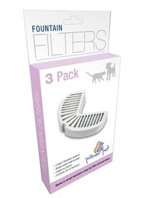 Pioneer Pet Pioneer Pet Replacement Filters for Ceramic & Stainless Steel 3 pkg