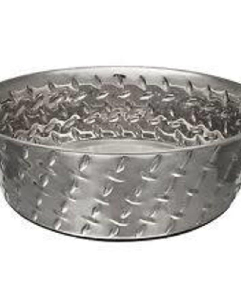 Loving Pets Loving Pets Diamond Plated Bowl