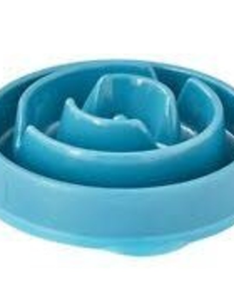 Outward Hound Outward Hound Sm. Fun Feeder Notch Blue