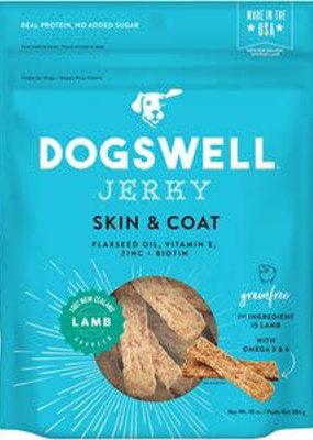 Dogswell Dogswell Skin & Coat Jerky GF Lamb 10oz