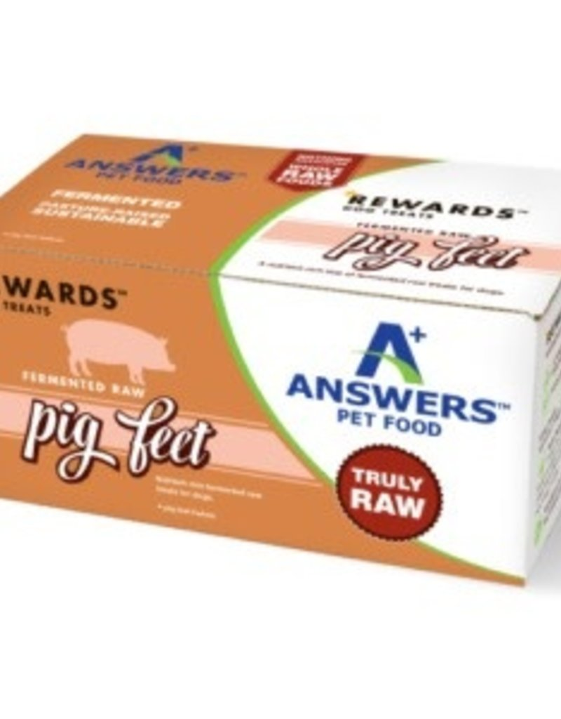 Answers Pet Food Answers Raw Fermented Pig Feet