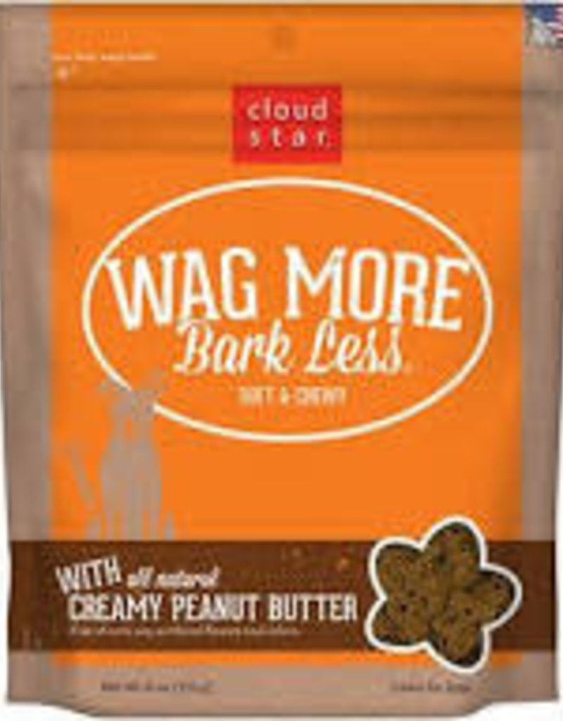 Cloud Star CloudStar Wag More Bark Less Soft and Chewy 6oz