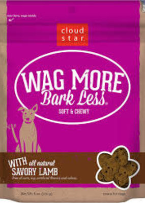 Cloud Star CloudStar Wag More Bark Less Soft and Chewy 6oz Lamb
