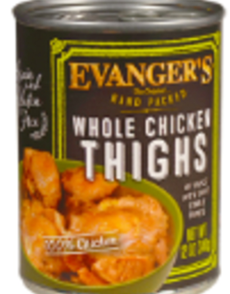 Evangers Evanger's 12oz Whole Chicken Thighs