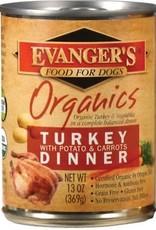 Evangers Evanger's Organics 13oz Turkey, Carrots, Peas