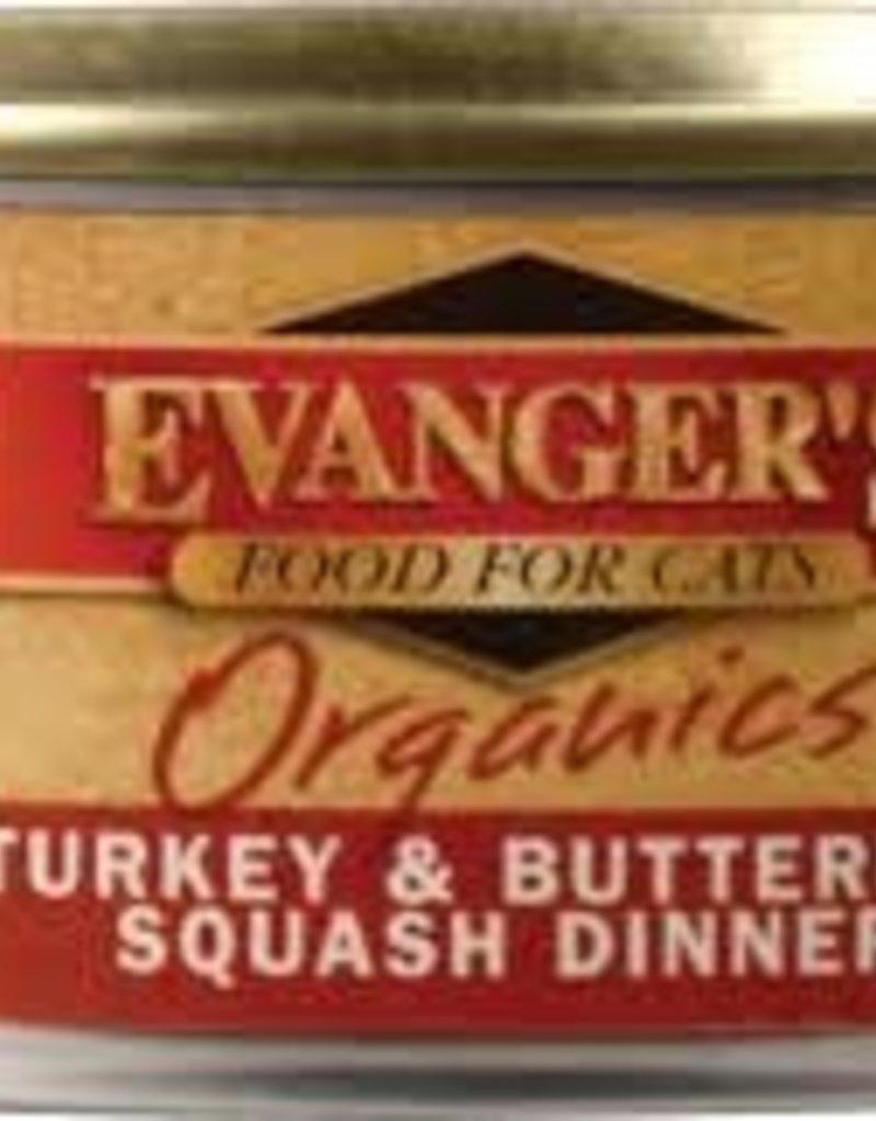 Evangers Evanger's Organics 5.5oz Turkey & Squash
