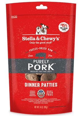 Stella & Chewys SC Pork Dinner Patty 14oz