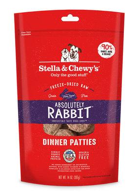 Stella & Chewys Stella & Chewy's Freeze-Dried Rabbit 14oz