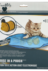 Our Pets OurPets Mouse in Pouch Electronic Cat Toy