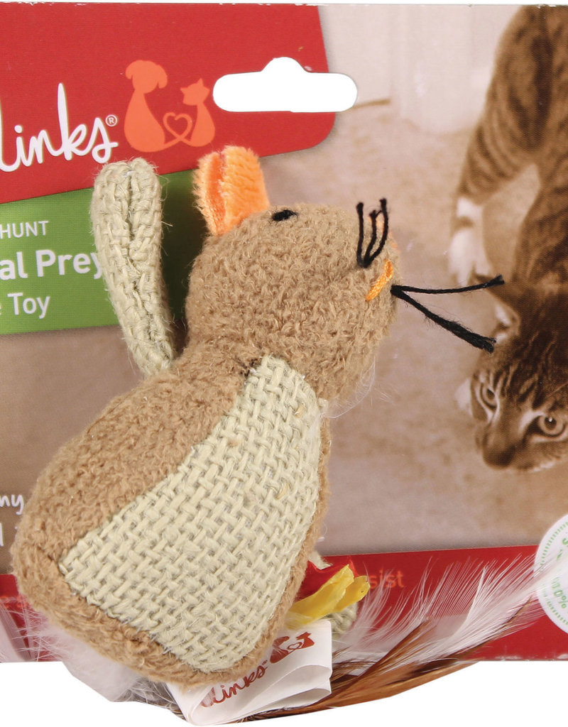 Pet Link PetLink Natural Prey Crinkle Toy