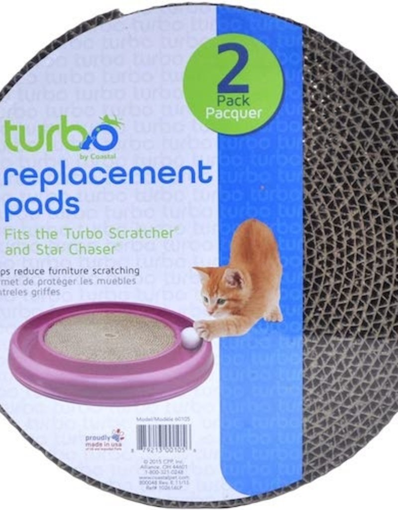 Bergan Bergan Turbo Replacement Pads 2ct