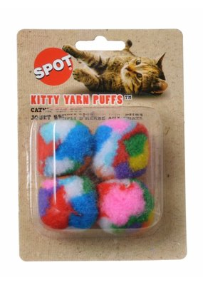 Ethical Spot Kitty Yarn Puffs 4pk