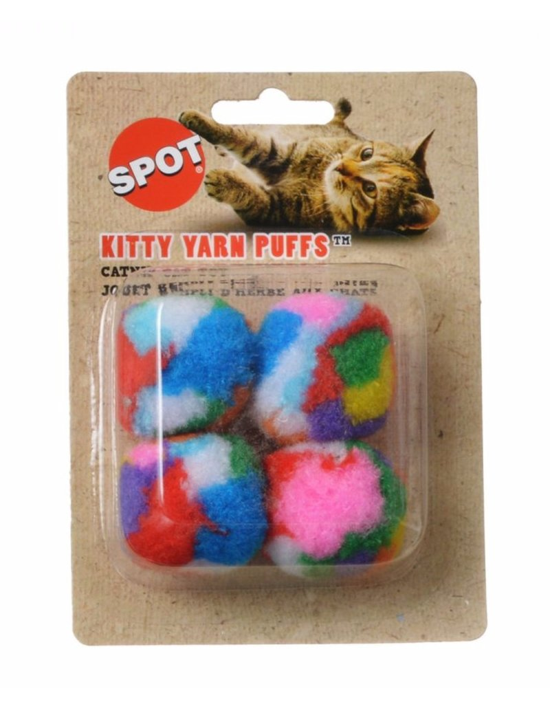 Ethical Spot Kitty Yarn Puffs 4pk