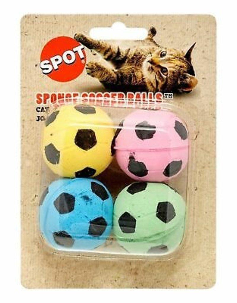 Ethical Spot Sponge Soccer Balls 4pk