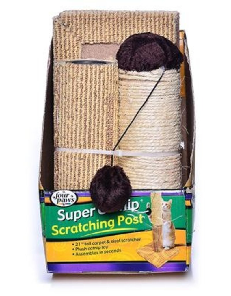 Four Paws FP Cat Scratcher  2pc Sisal 20""