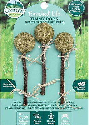 Oxbow Oxbow 3 Ct. Timothy Lollipops