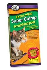 Four Paws FP Super Catnip Scratch DblWide Lg