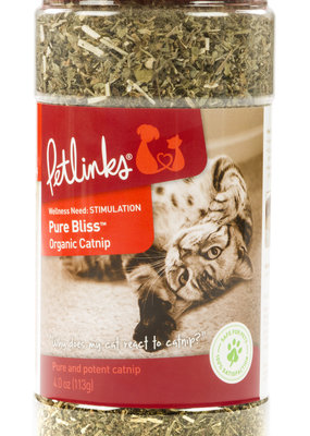 Pet Link PetLink 2oz Pure Bliss Organic Catnip Shaker canister