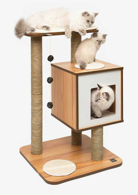 Catit Hagen Catit Vesper V Base Walnut Cat Tree