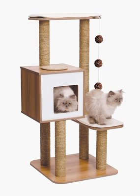 Catit Hagen Catit Vesper V-High Base Walnut Cat Tree
